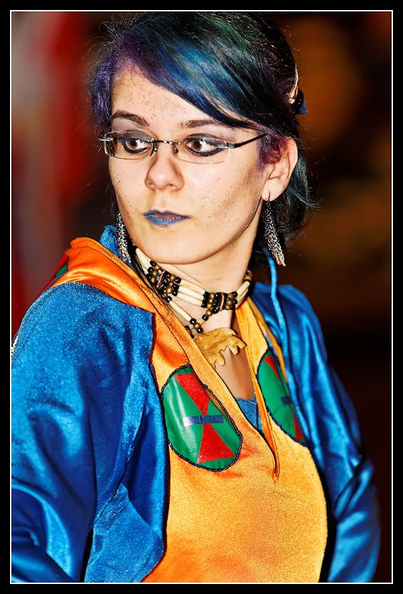 Powwow - Tänzerin