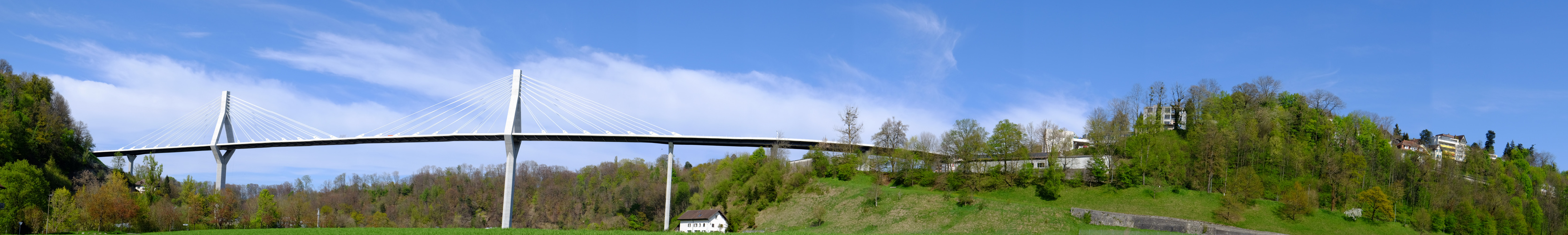 Poyabrücke in Freiburg CH