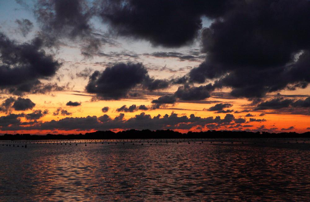 Pozzuoli tramonto