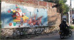 PP CHRISTMAS street Sri Lanka
