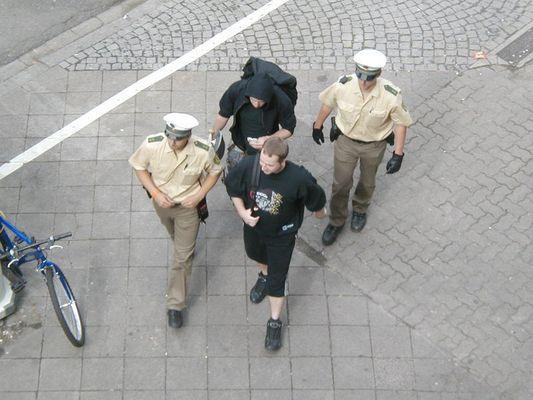 P&P ... Punks und Polizei (Teil 1)