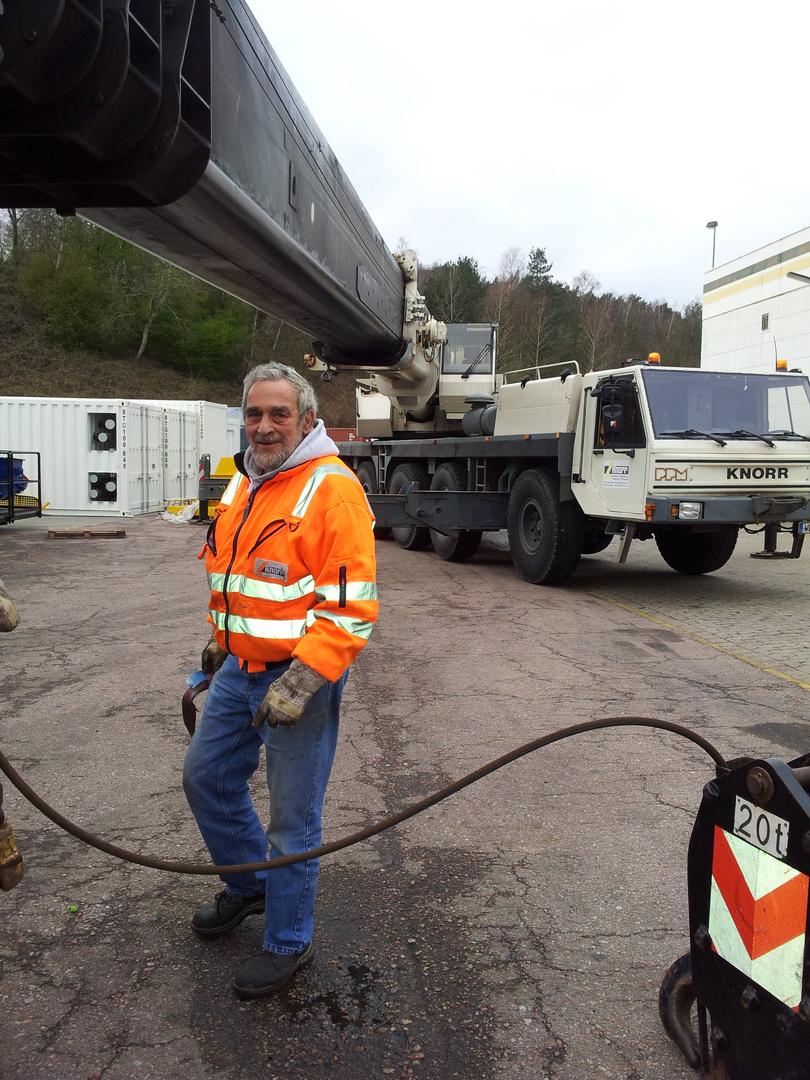 PPM 1300 , ATT 1300 , Hans beim Umscheren