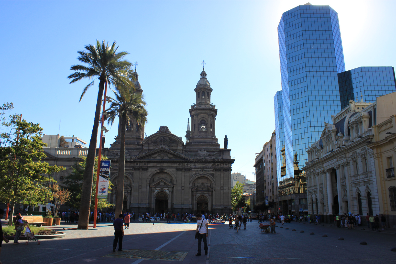 Praça das Armas - Cathedral - Santiago - CH