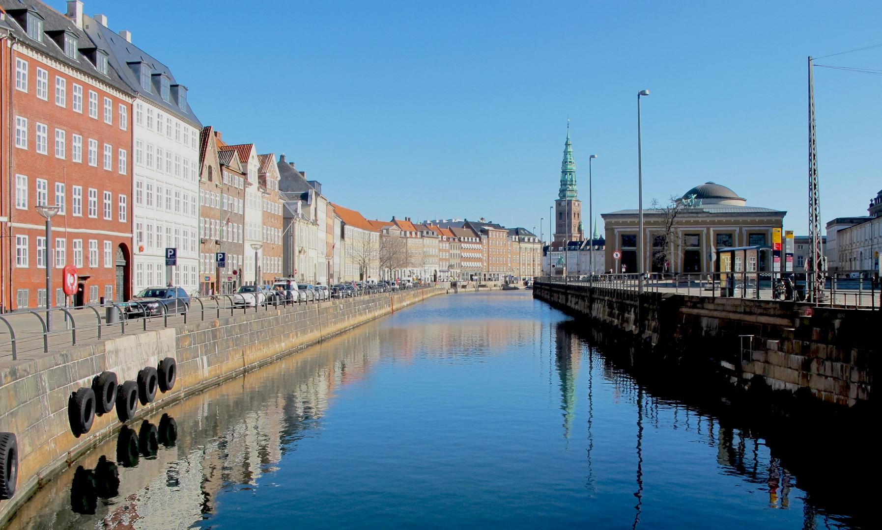 Prachtswetter in Copenhagen