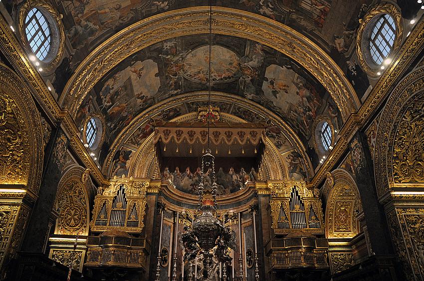 Prachtvoll ! St. John's Co Cathedral Valetta, Malta