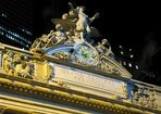 prächtig verzierte Uhr über dem Grand Central Terminal