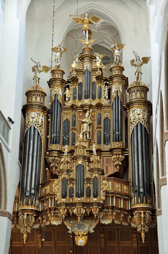 Prächtiges Orgelwerk