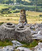 Prähistorische Brau-und Kultstätte in Irland.