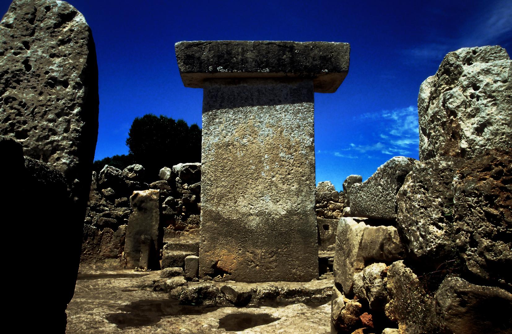 Prähistorische Kultstätte Sa Torreta auf Menorca