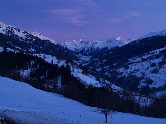 Prättigau - Blaue Stunde
