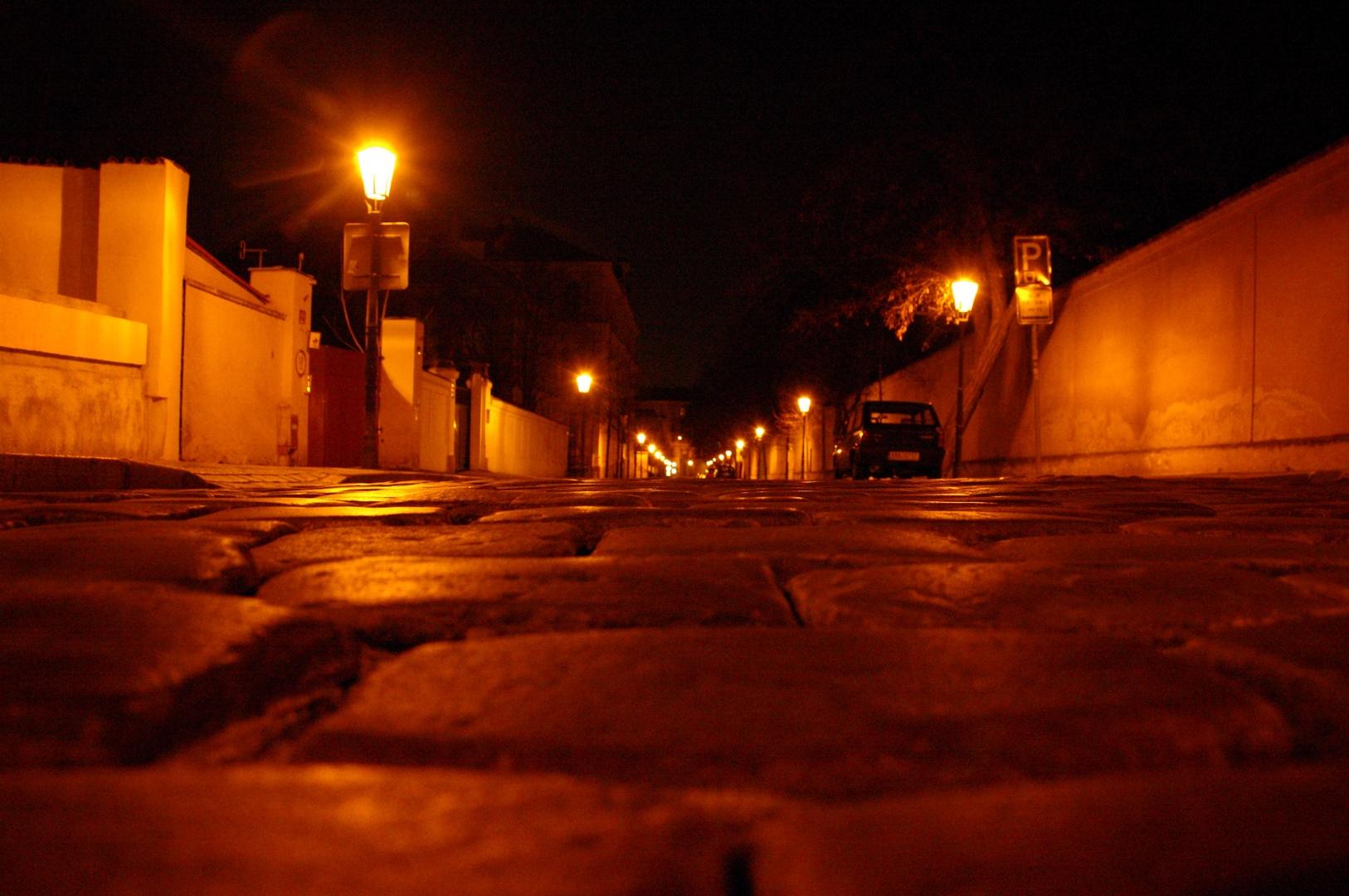 Prag 008 - Rundgang bei Anbruch der Nacht - gefallen.....