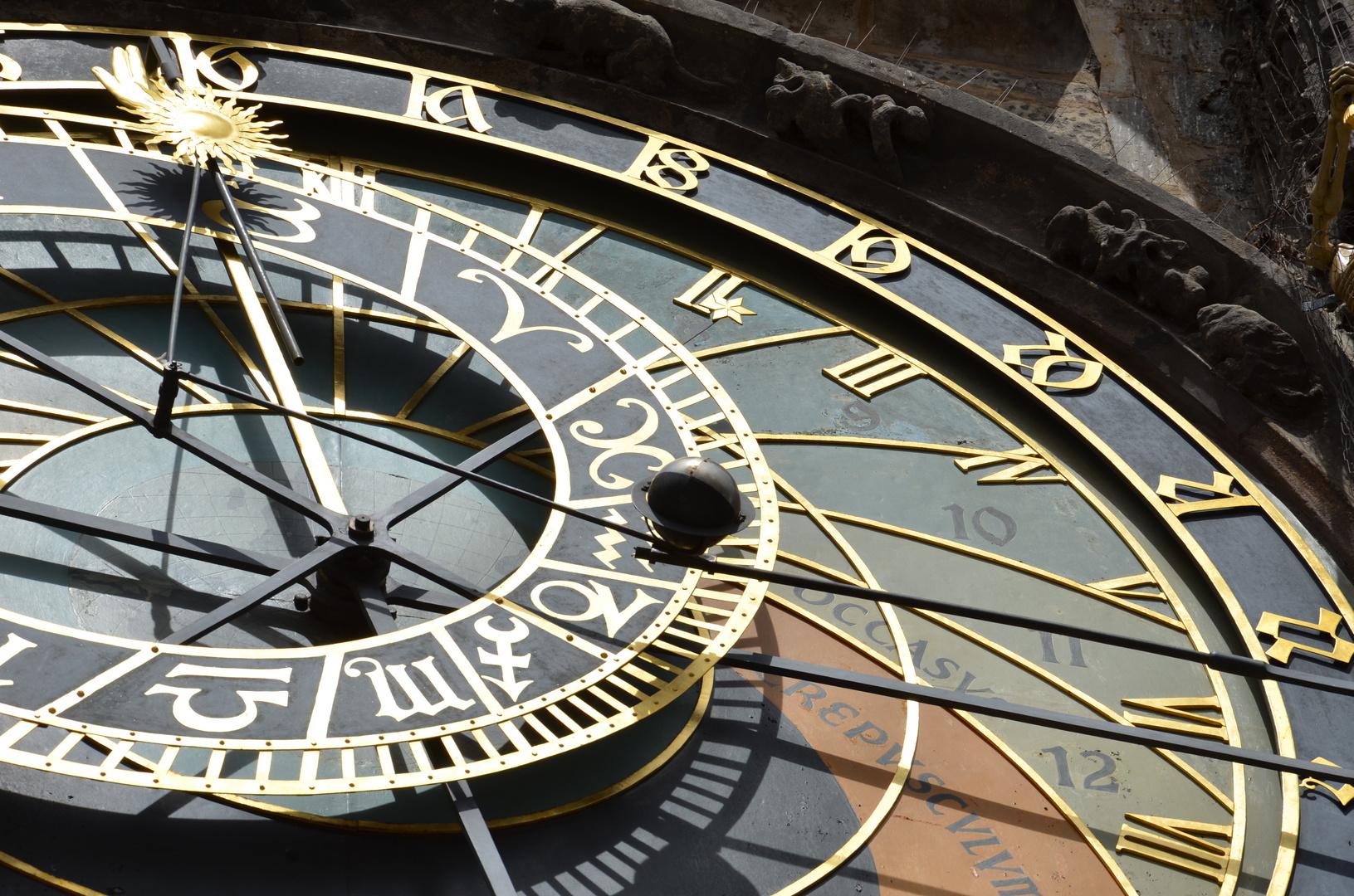 Prag - Astronomische Uhr