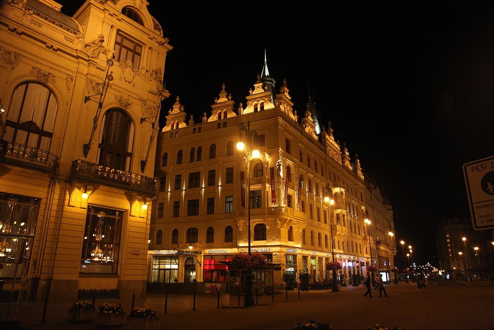 Prag bei Nacht / Praga de noche 6