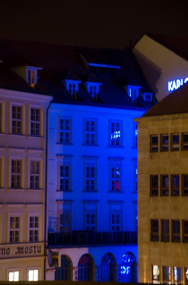 Prag blaues Haus