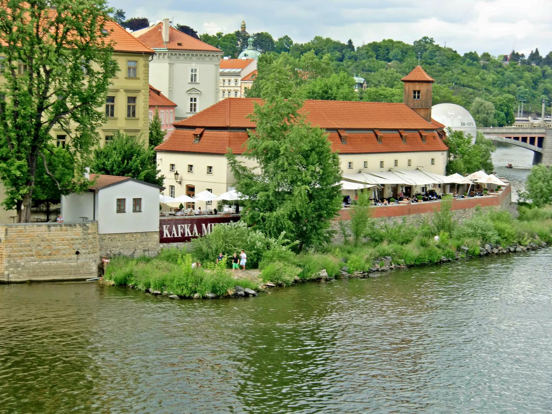 Prag - Das Kafka Museum in Prag