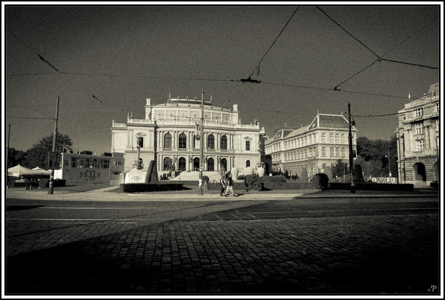 Prag, die Goldene Stadt 14, Galerie Rudolfinum