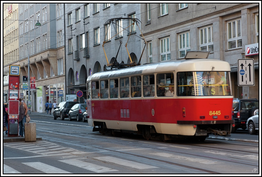 Prag, die Goldene Stadt 15, Straßenbahn