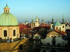 Prag - from over the bridge