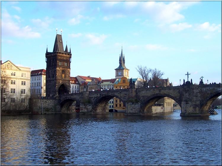 Prag - Karlov most