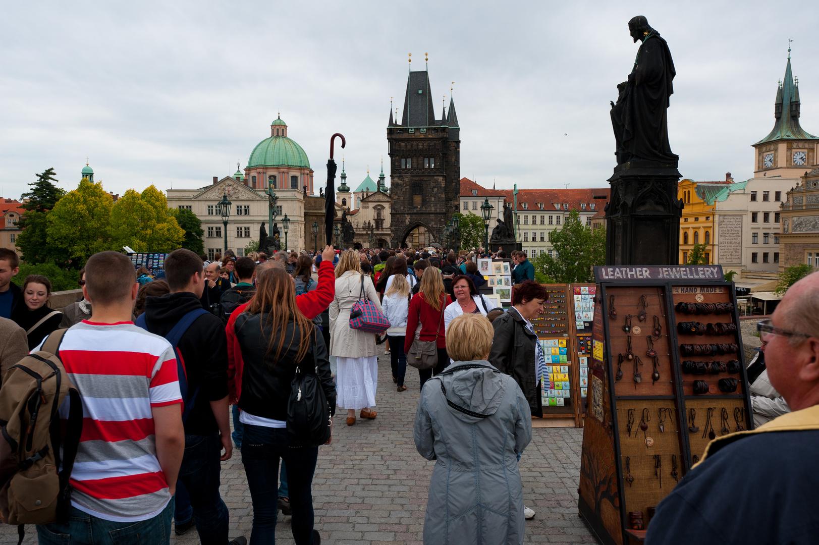 Prag , Karlsbrücke 1