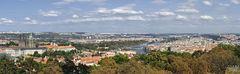 Prag, Kleinseite und Altstadt vom Aussichtsturm