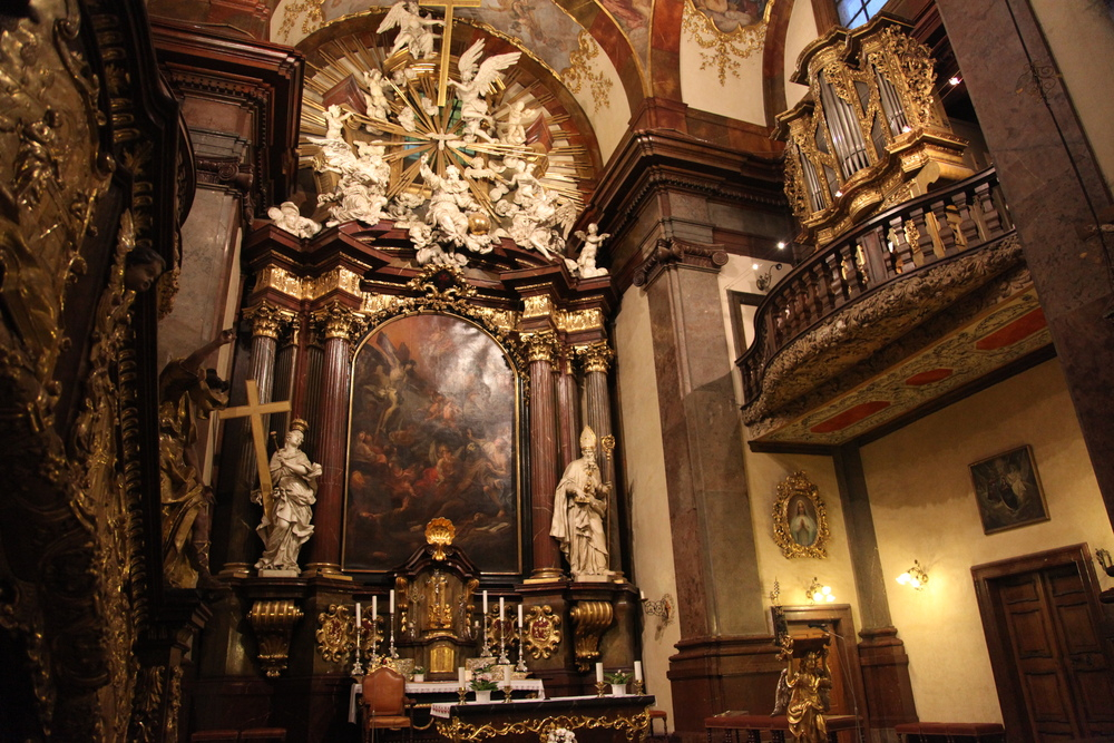 Prag: kostel sv. Františka z Assisi