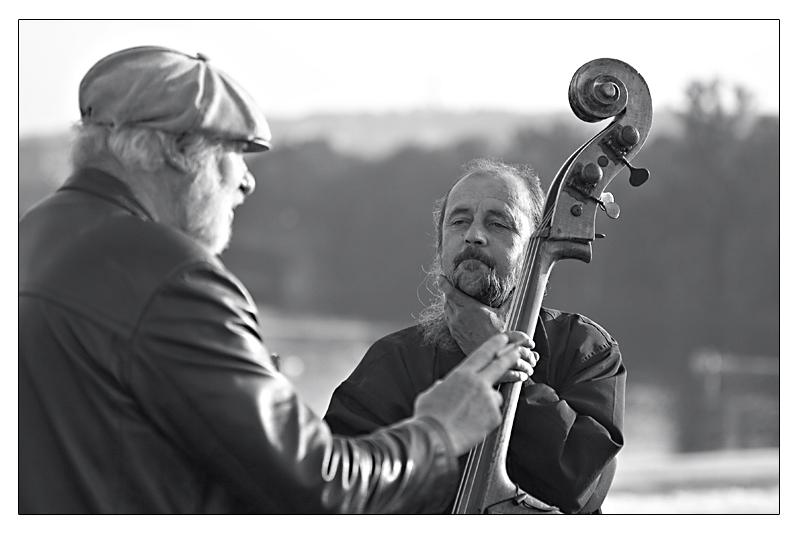 Prag. Musiker.