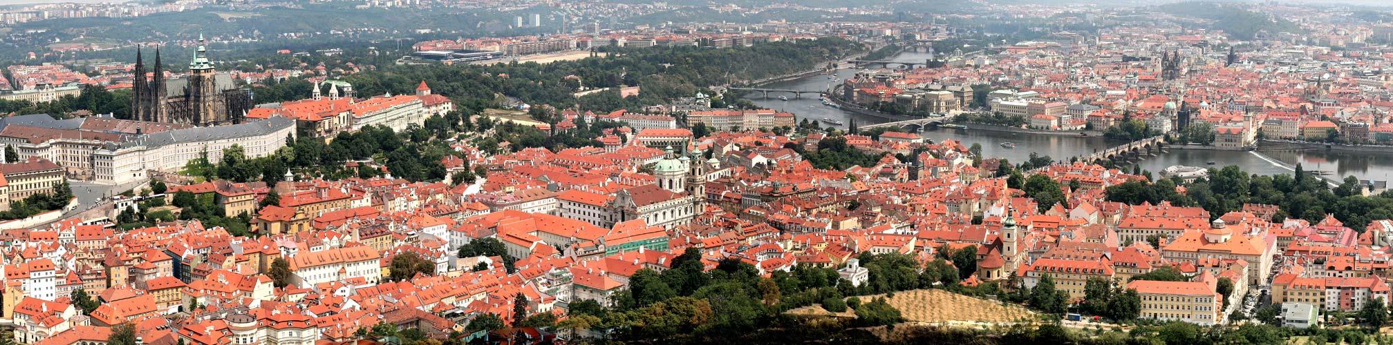 Prag, Praha, Prague - Panorama