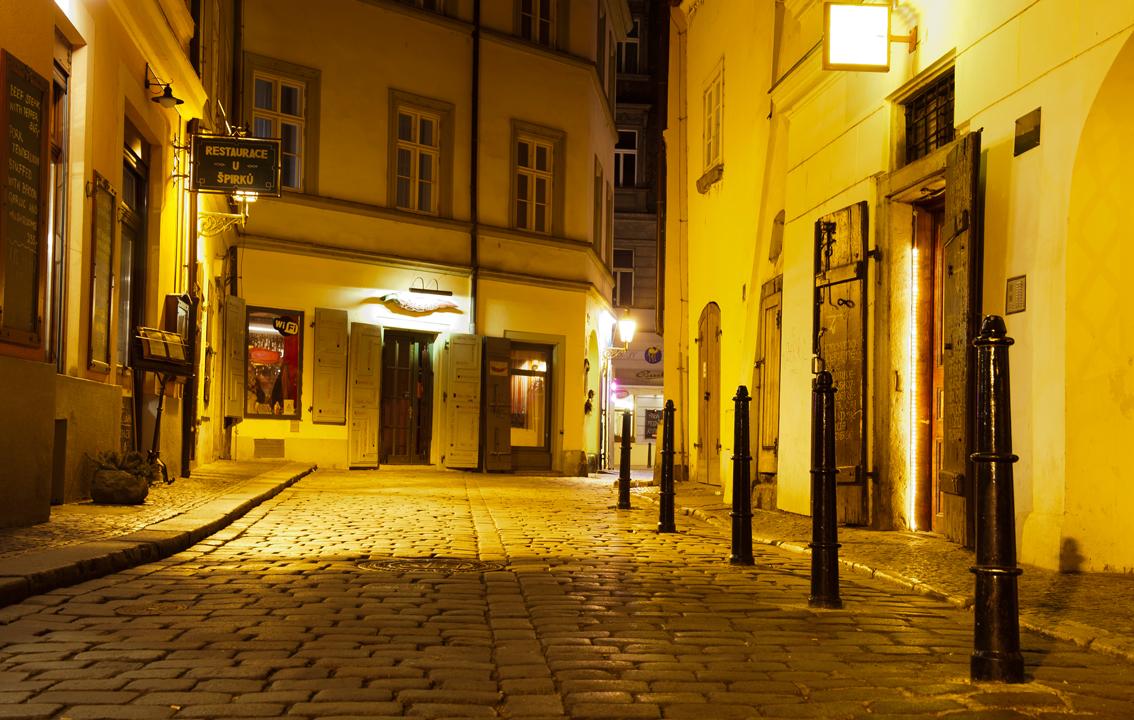 Prag - Seitenstrasse!