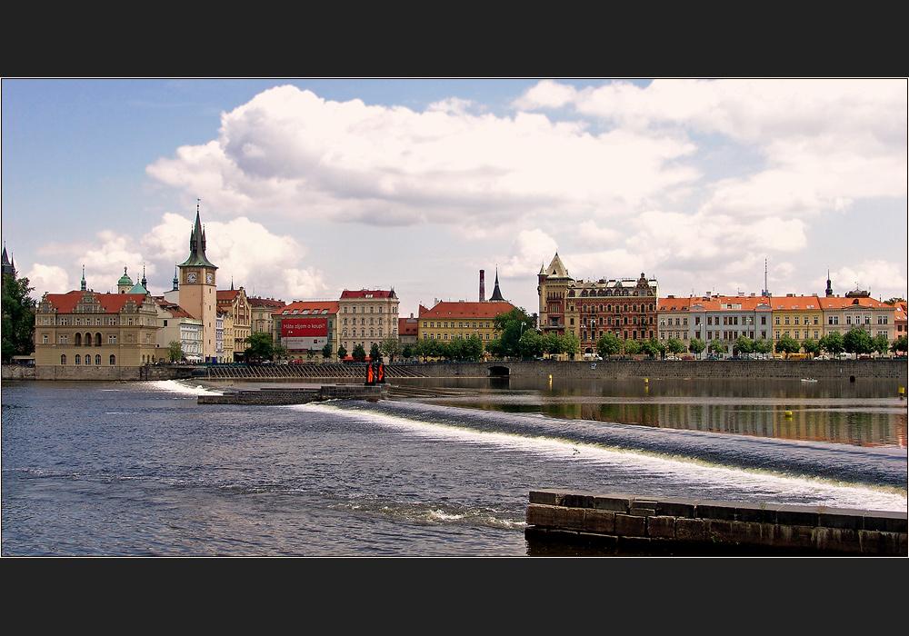 Prag - Smetanaufer an der Moldau