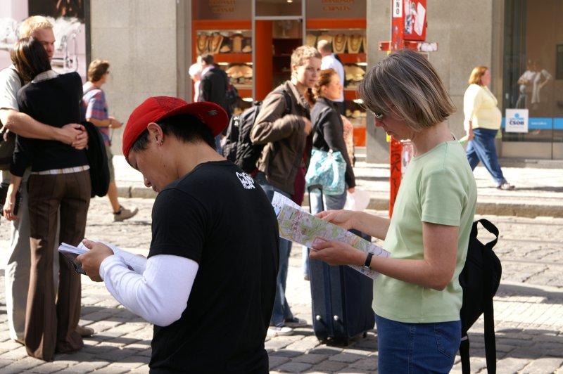 Prag V - Touristen ... kennt hier jemand den Weg?