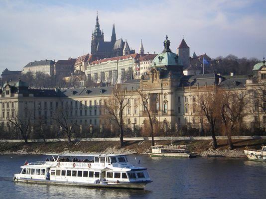 Prag von der Czechbrücke