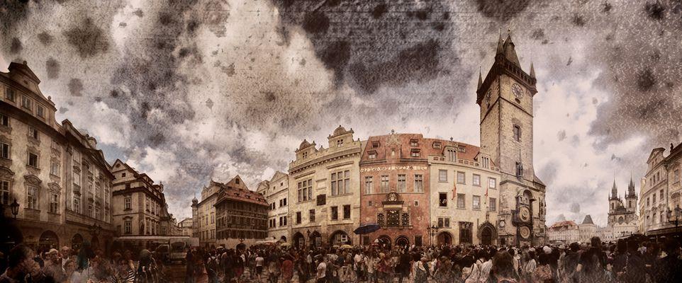 Prag...#79 Rathausplatz