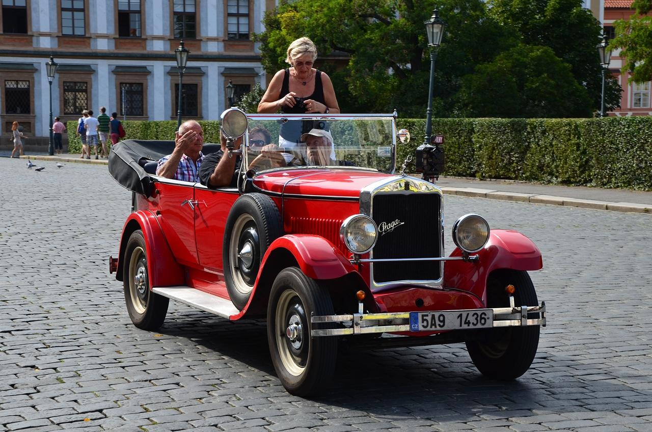 Praga Alfa Cabriolets