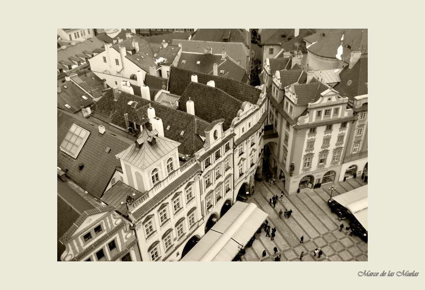 ...Praga desde las alturas...