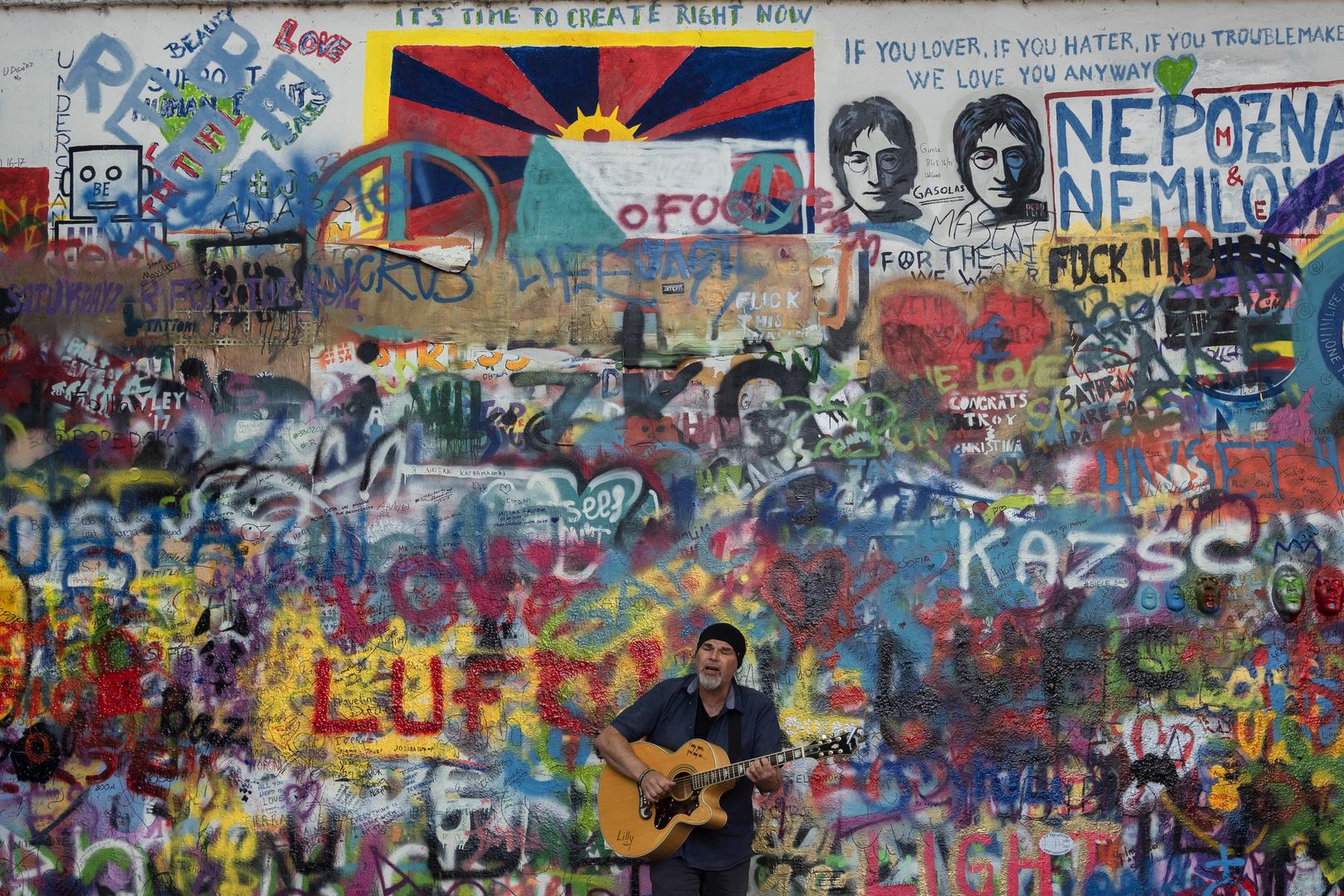 Praga, Lennon wall