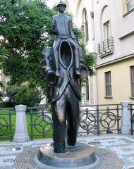 Praga monumento a Kafka