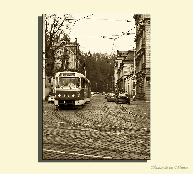 ...Praga y los tranvias 2...
