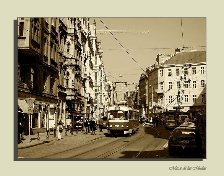 ...Praga y los tranvias 4...