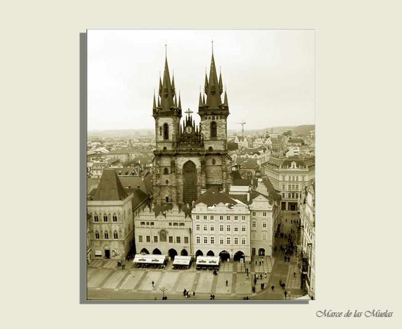 ...Praga y sus torres...