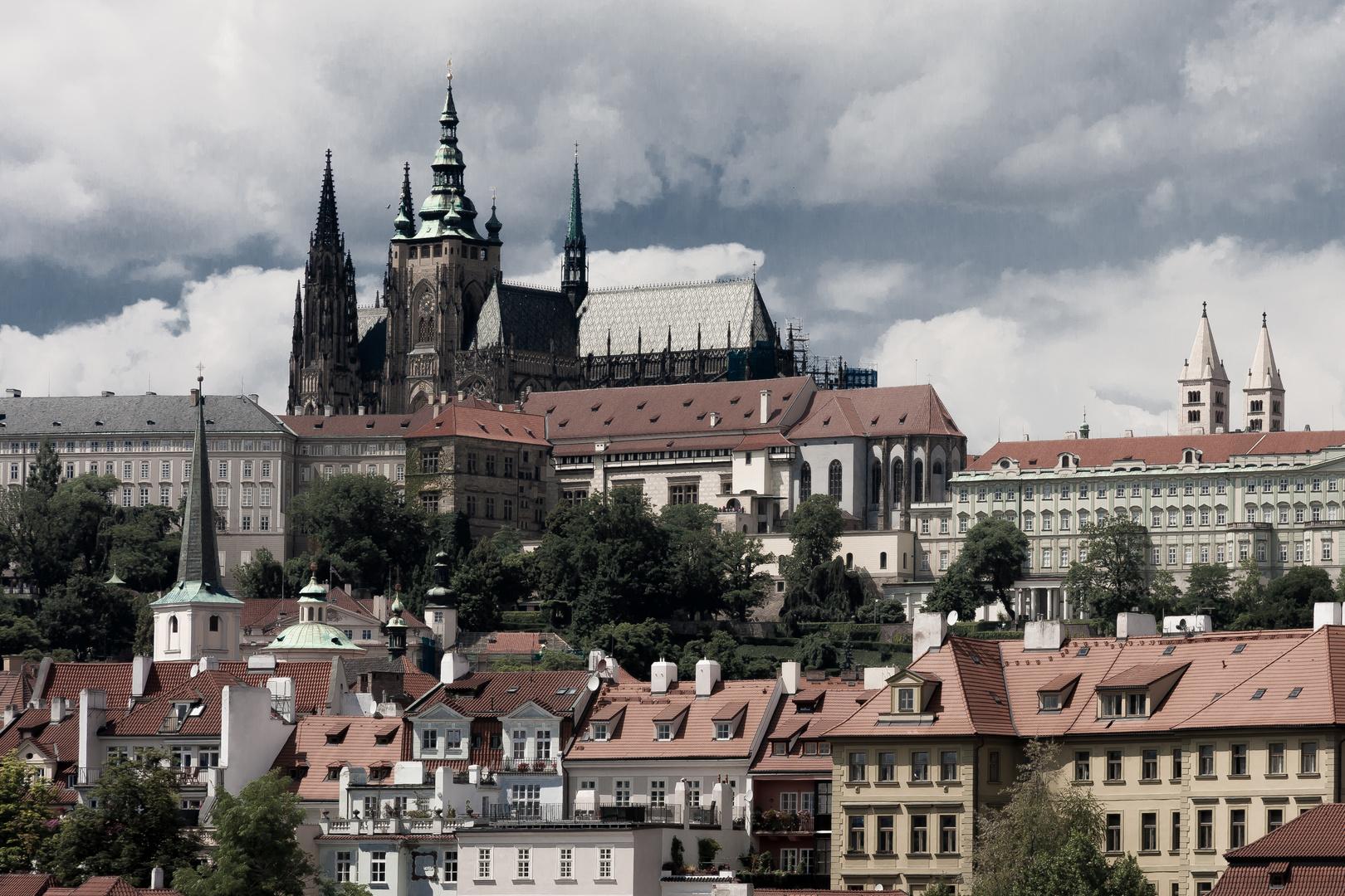 Prager Altstadt im Sommer