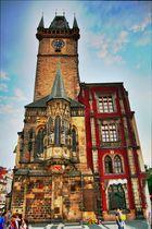 Prager Rathaus in HDR