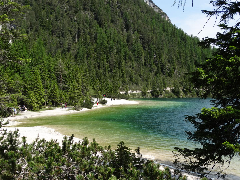 Pragser Wildsee in Südtirol.