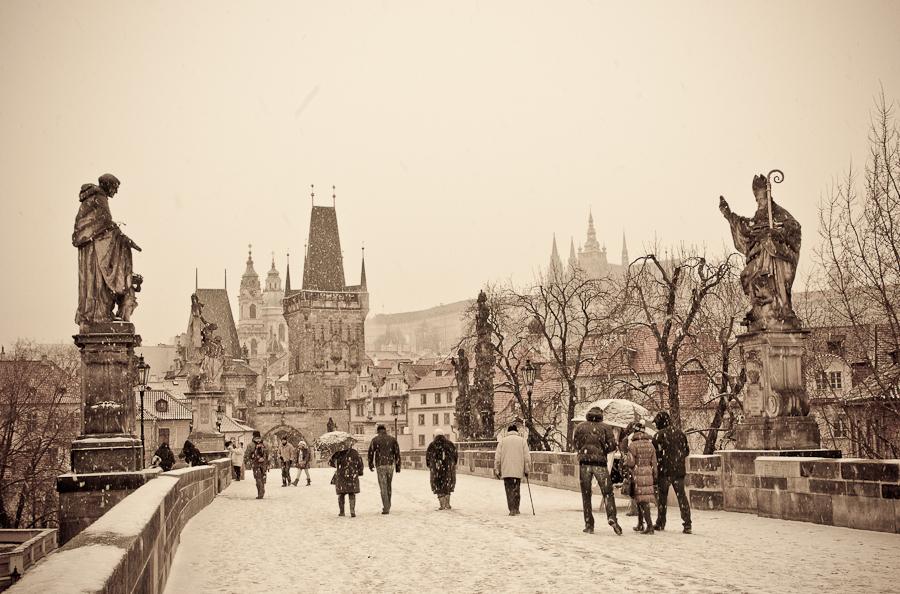 Prague, c'était hier