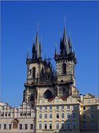 Prague-Church of Our Lady of Tyn