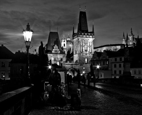 Prague , In the darkness