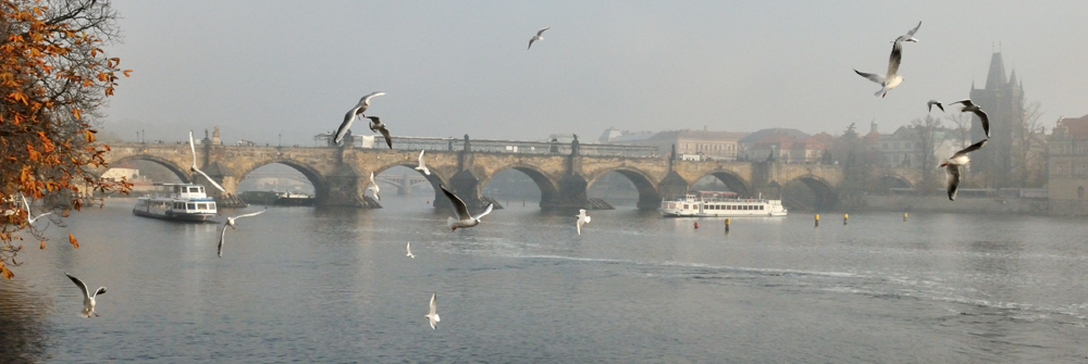 Prague sur les bords de la Vistule