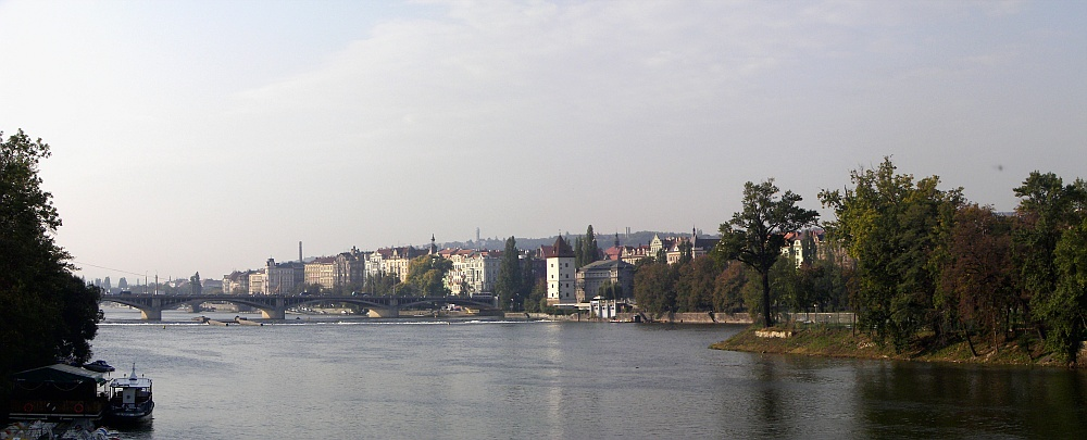 Prague. View of Vltava