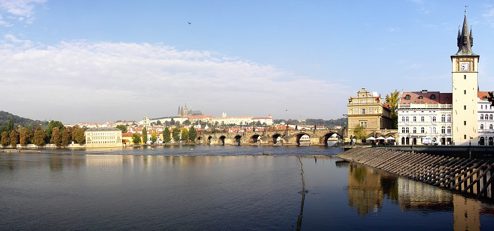 Prague View of Vltava