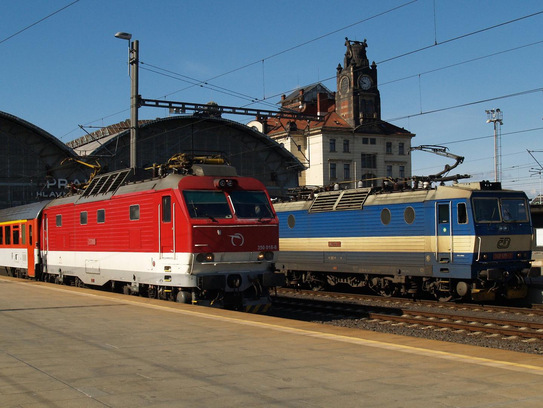 Praha hl.n. - CD 362 175-2 und ZSR 350 018-8